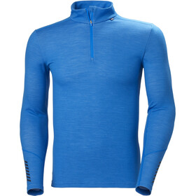 Helly Hansen Lifa Merino Midweight 1/2 Zip Men, electric blue